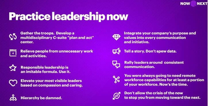 10 leadership steps