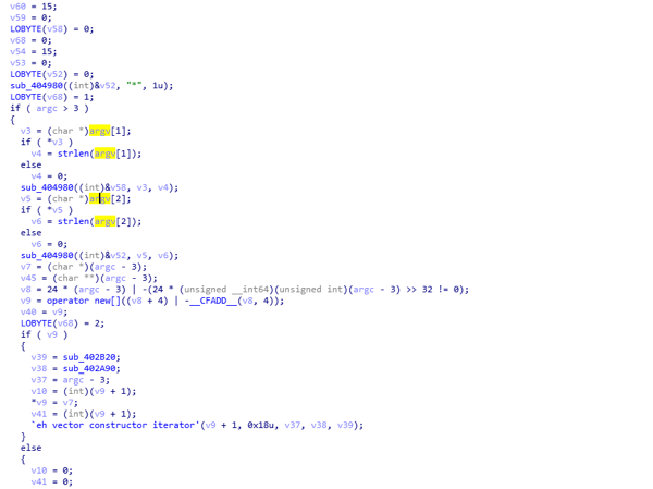 Figure shows that the malware is expecting a date in YYYY MM DD format as the arguments