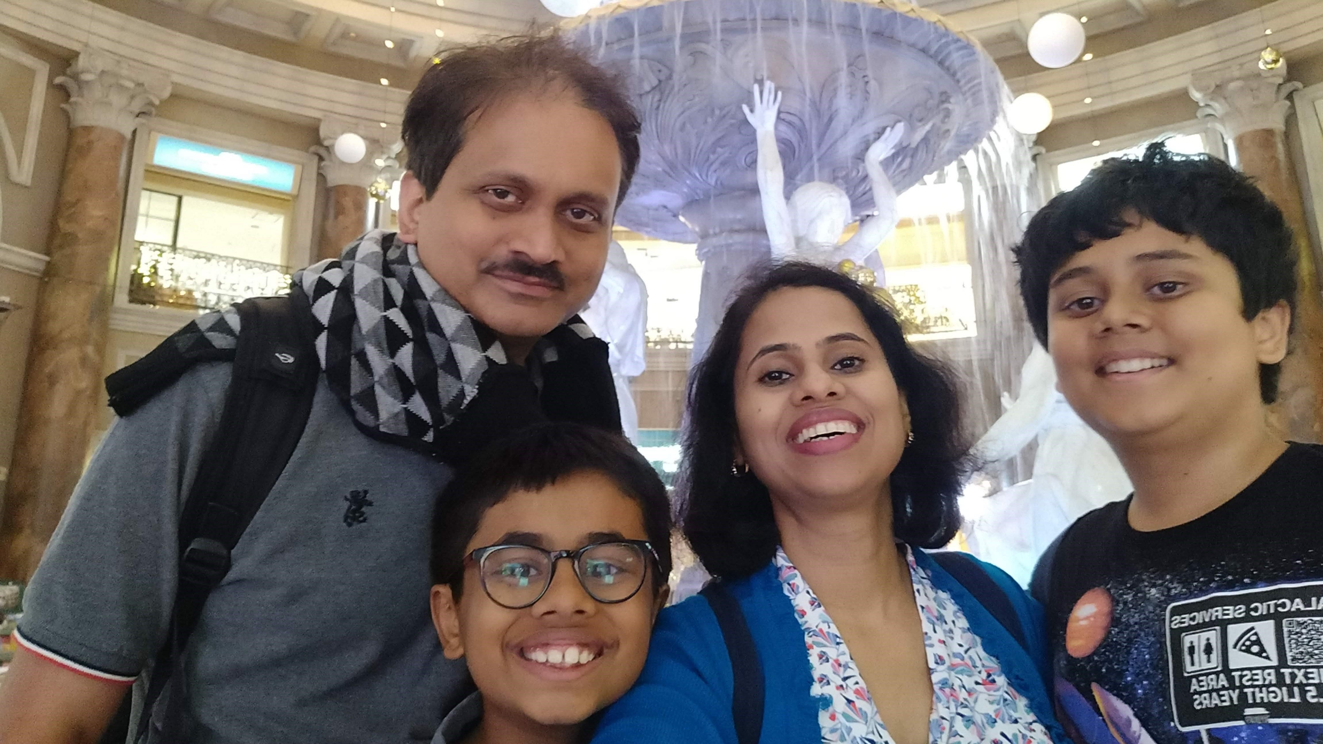 Sailaja Bhagavatula and family
