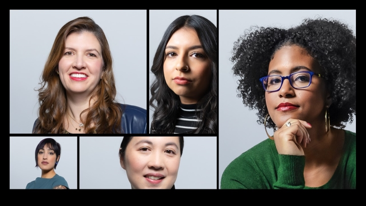 Compilation image of five Accenture women