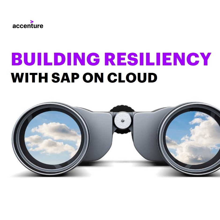 Building resilience with SAP on cloud | Accenture webcast