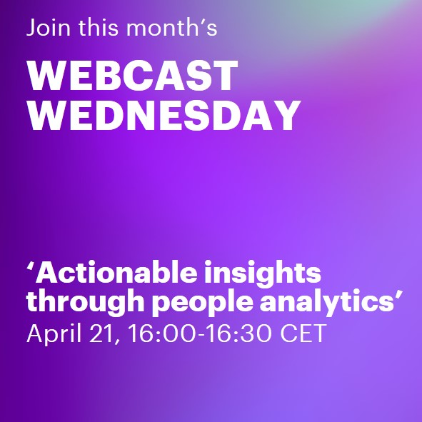 Actionable inisghts through people analytics | Accenture Webcast